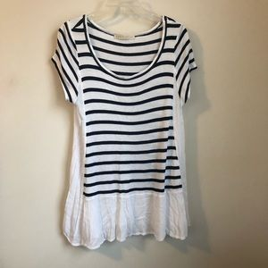 Antjropologie • striped nautical swing top